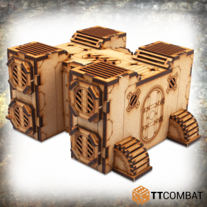 TTCombat   Industrial Hive (28-32mm) Sector 4 - Pybus Pipe Hub - TTSCW-INH-045 - 5060570136993