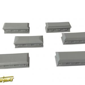 TTCombat   Fantasy Scenics (28-32mm) Coffins (resin) - WWSRA002 - 5060504041591