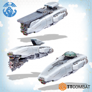 TTCombat Dropfleet Commander  The Resistance Fleet Resistance Armstrong Destroyers - TTDFR-RES-007 -