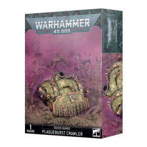 Games Workshop Warhammer 40,000  Death Guard Death Guard Plagueburst Crawler - 99120102125 - 5011921153541