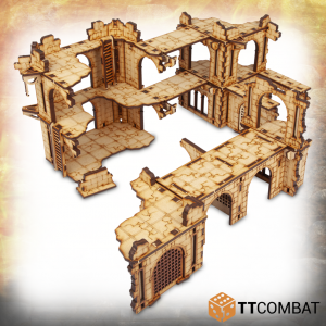 TTCombat   Savage Domain (28-32mm) Savage Domain: Derelict Enclave - TTSCW-FSC-034 - 5060570136191