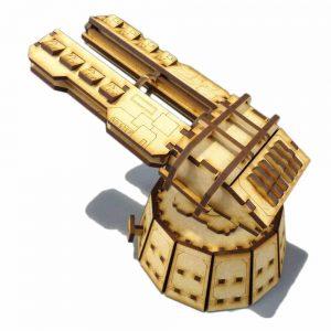 TTCombat   Sci Fi Scenics (28-32mm) Railgun Defence Platform - SFU035 - 5060504042253