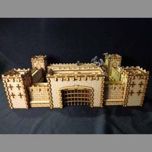 TTCombat   Fantasy Scenics (28-32mm) Fantasy Scenics Castle Set - FSC001 - FSC001
