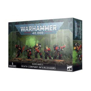 Games Workshop Warhammer 40,000  Blood Angels Blood Angels Death Company Intercessors - 99120101279 - 5011921138548