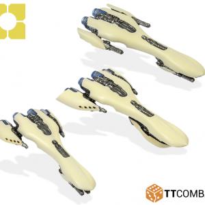 TTCombat Dropfleet Commander  Post-Human Republic Fleet PHR Destroyers - HDF-24004 - 5060570131820