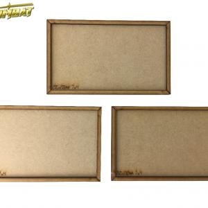 TTCombat   Movement Trays 20 x 20mm MDF Movement tray (7x4) - MVT20-7x4 -