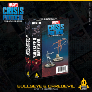 Atomic Mass Marvel Crisis Protocol  Marvel: Crisis Protocol Marvel Crisis Protocol: Bullseye and Daredevil - CP30 - 841333109325