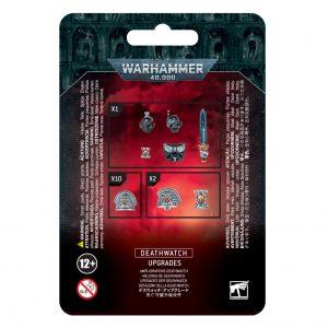 Games Workshop Warhammer 40,000  Deathwatch Deathwatch Upgrades - 99070109007 - 5011921149001
