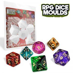 Green Stuff World   Mold Making RPG Dice Moulds - 8436574508550ES - 8436574508550