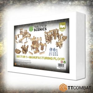 TTCombat   White Box Specials White Box Special: Sector 1 Manufacturing Floor - TTSCX-EXC-014 - 5060850179757