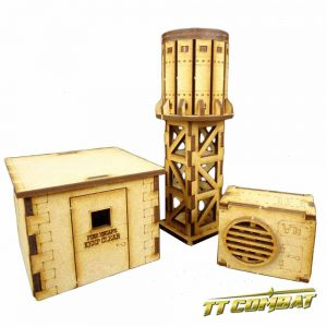 TTCombat   City Scenics (28-30mm) Rooftop Accessories - DCS009 - 5060504040082