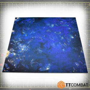 TTCombat   Tabletop Gaming Mats Dropfleet Night Mat - 4x4 - KDTTSCM-DFC-003 -