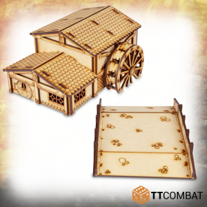 TTCombat   Savage Domain (28-32mm) Savage Domain: Halfling Watermill - TTSCW-FSC-026 - 5060570134203