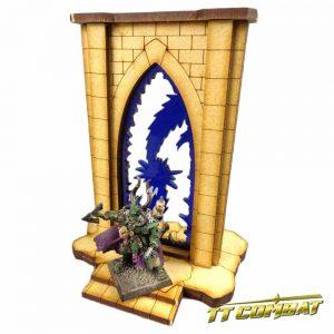 TTCombat   Fantasy Scenics (28-32mm) Minor Riftgate of Storms - FSC006 - 5060504043397