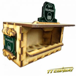 TTCombat   Sci Fi Scenics (28-32mm) Food Booth B (Git Burga) - SFU017 - 5060504042079