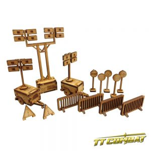 TTCombat   City Scenics (28-30mm) Building Site Set - DCS020 - 5060504040198