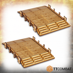 TTCombat   Savage Domain (28-32mm) Savage Domain: Halfling Bridges - TTSCW-FSC-024 - 5060570134180