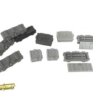 TTCombat   Sci Fi Gothic (28-32mm) Ammo Crates - SFGRA001 - 5060504044615