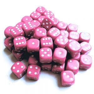 TTCombat   D6 Dice: Pink (12mm) - KDDO09 - 5060570131585