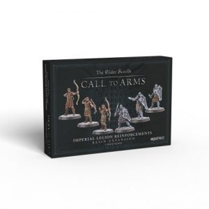 Modiphius The Elder Scrolls: Call to Arms  The Elder Scrolls: Call To Arms The Elder Scrolls: Call to Arms - Imperial Legion Reinforcements Resin Expansion - MUH052057 -