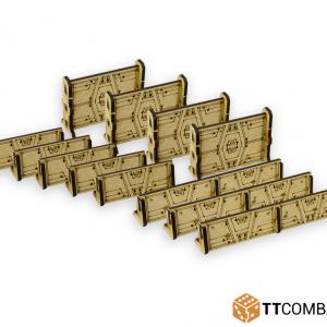 TTCombat   Sandstorm (28-32mm) Sandstorm Barricades - SFU053 - 5060570131653