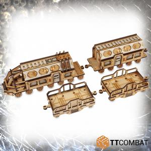 TTCombat   Sci Fi Gothic (28-32mm) Supply Train Set - TTSCW-SFG-071 - 5060570133909