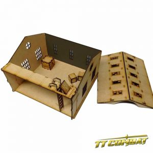 TTCombat   Old Town (28-32mm) Old Town Warehouse Extension - OTS038 -