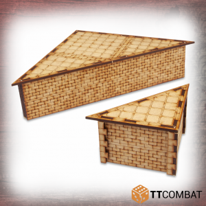 TTCombat   Streets of Venice (28-32mm) Raised Street Corners - TTSCW-SOV-156 - 5060570135743