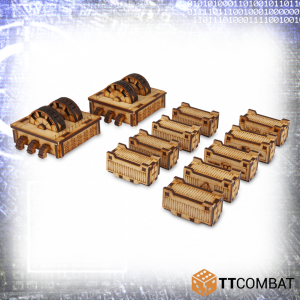 TTCombat   Sci Fi (15mm) Industrial Accessories - TTSCW-SFX-051 - 5060570136283