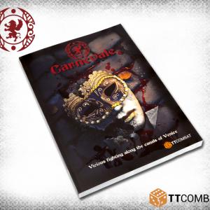 TTCombat   Carnevale Carnevale: Rulebook - TTC-CMGK-ACC-001 - 5060570132827