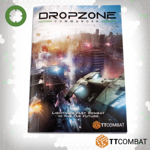 TTCombat Dropzone Commander  Dropzone Commander Essentials Dropzone Commander Rulebook - TTDZK-ACC-002 - 5060570137136