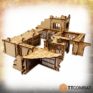 TTCombat   Savage Domain (28-32mm) Savage Domain: Forsaken Prison - TTSCW-FSC-036 - 5060570136238