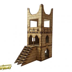 TTCombat   Fantasy Scenics (28-32mm) Guardian Tower - RPG006 - 5060504043717