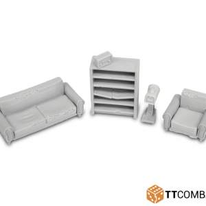 TTCombat   City Scenics (28-30mm) Lounge Accessories - DCSRA017 - 5060570131882