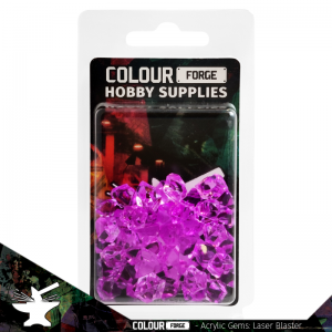 The Colour Forge   Acrylic Gems Acrylic Gems: Laser Blaster - TCF-AG-0263 - 5060843100263