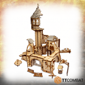 TTCombat   Savage Domain (28-32mm) Savage Domain: Crumbling Tower - TTSCW-FSC-028 - 5060570136122
