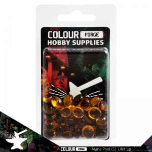 The Colour Forge   Glass Gems Mana Pool: Lifetrap (small) - TCF-MP-0171 - 5060843100171