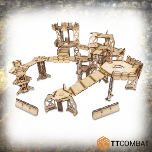 TTCombat   Industrial Hive (28-32mm) Sector 1 - Alpha Complex - TTSCW-INH-059 - 5060570138249