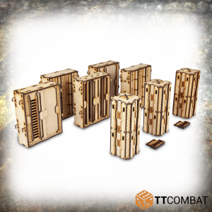 TTCombat   Iron Labrynth (28-32mm) Iron Labyrinth: High Walls - TTSCW-INH-050 - 5060570136795