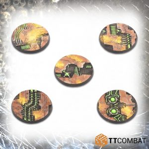 TTCombat   Tomb World 40mm Tomb World Bases (10) - TTSCR-SFG-016 - 5060570139178