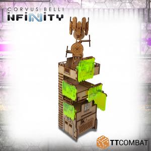 TTCombat   Infinity Terrain (TTCombat) Comms Tower - TTSCW-SFU-076 - 5060570135378