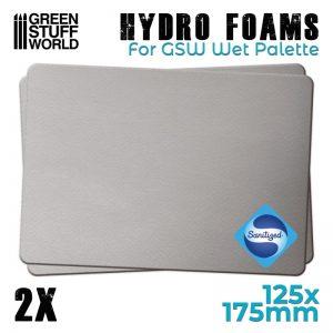 Green Stuff World   Paint Palettes Hydro Foams x2 - 8436574506839ES - 8436574506839
