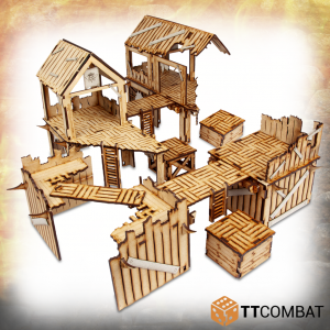 TTCombat   Savage Domain (28-32mm) Savage Domain: Barbarian Encampment - TTSCW-FSC-032 - 5060570136160