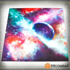 TTCombat   Tabletop Gaming Mats Outer Space Mat - 3x3 - KDTTSCM-OSP-001 -