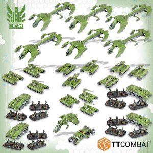TTCombat Dropzone Commander  Dropzone Commander Essentials UCM Starter Army - TTDZX-UCM-001 - 5060570137204