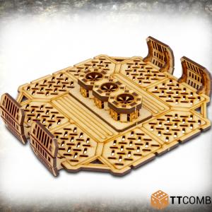 TTCombat   Industrial Hive (28-32mm) Sector 2 - Storage Platform Fans - TTSCW-INH-040 - 5060570133497