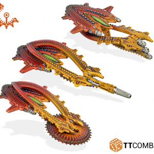 TTCombat Dropfleet Commander  Shaltari Tribes Fleet Shaltari Destroyers - TTDFR-SHL-007 - 5060570131813