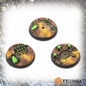 TTCombat   Tomb World 32mm Tomb World Flying Bases (10) - TTSCR-SFG-015 - 5060570139161