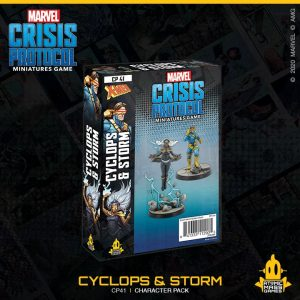 Atomic Mass Marvel Crisis Protocol  Marvel: Crisis Protocol Marvel Crisis Protocol: Cyclops and Storm - CP41 - 841333112905