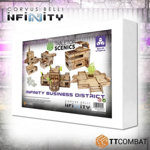 TTCombat   Infinity Terrain (TTCombat) White Box Special: Infinity Business District - TTSCX-EXC-019 - 5060850179801